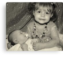 Sisters ! Canvas Print