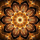 Golden Reflections Kaleidoscope 02 by fantasytripp
