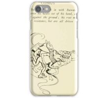 Comus Illustrated by Arthur Rackham 1921 0146 The Brothers Rush In With Swords Drawn iPhone Case/Skin
