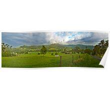 Road to Kangaroo Valley. Poster