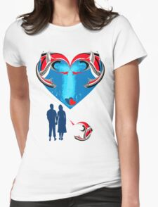 valentine Womens Fitted T-Shirt