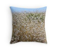 Rabbit Tails Throw Pillow