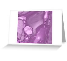 Transportation -Studebaker Lavender Glow Greeting Card