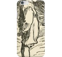 Hansel & Grethel & Other Tales by Grimm Wilelm and Jacob art by Arthur Rackham 0197 Child Before Grandfather iPhone Case/Skin