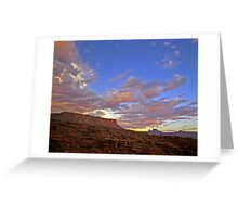 Castle Valley Greeting Card