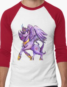 Princess Twilight Sparkle Men's Baseball ¾ T-Shirt
