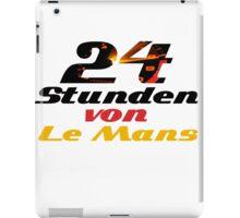 24 Stunden von Le Mans (Hours of Le Mans) iPad Case/Skin