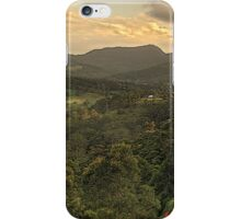 Tallebudgera Valley panorama iPhone Case/Skin