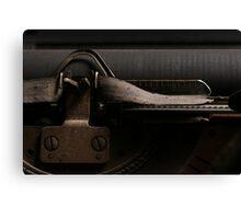 Remington - Mechanism Canvas Print