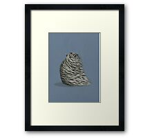 The Sand Yeti Framed Print