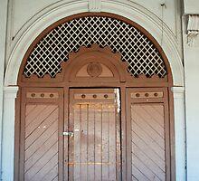 Maldon Doors by Clare McClelland
