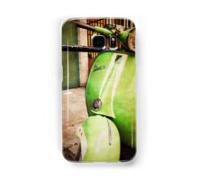iPhoneography: Green Vespa Samsung Galaxy Case/Skin