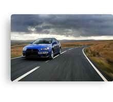 The awesome Evo X .... Canvas Print