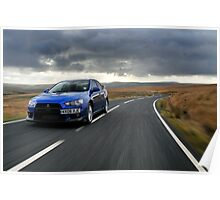 The awesome Evo X .... Poster