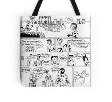 HSC Major Work Comic page 7 Tote Bag