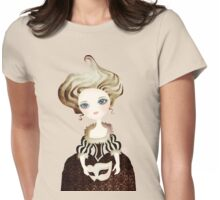 Madame Cupcake Womens Fitted T-Shirt