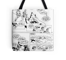 HSC Major Work Comic page 8 Tote Bag
