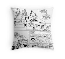 HSC Major Work Comic page 8 Throw Pillow