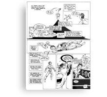HSC Major Work Comic page 10 Metal Print