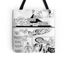 HSC Major Work Comic page 10 Tote Bag