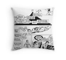 HSC Major Work Comic page 10 Throw Pillow