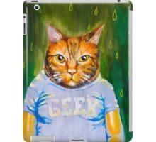 Geeky Cat iPad Case/Skin