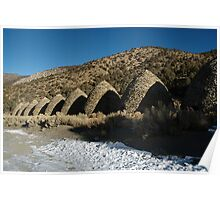 Charcoal Kilns; Death Valley Poster