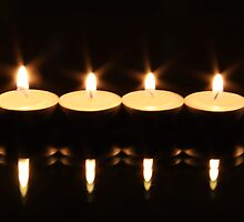 Tea Light Candles by digipix