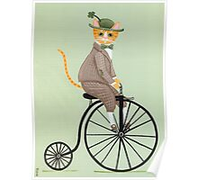 Dandy Penny Farthing Poster