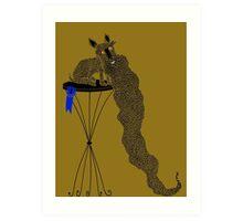 Best in Show Scottie Dog Long Beard Art Print