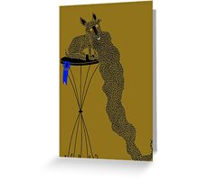 Best in Show Scottie Dog Long Beard Greeting Card