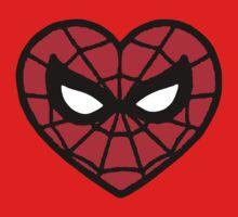 I <3 Spider-man v.2 One Piece - Short Sleeve