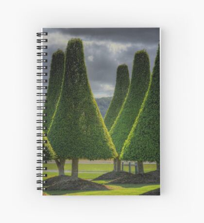 dada trees Spiral Notebook