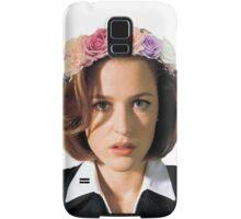 Gillian Anderson Dana Scully Fox Mulder X Files Samsung Galaxy Case/Skin