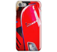 iPhoneography: Red Vespa  iPhone Case/Skin