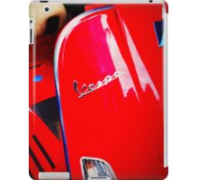 iPhoneography: Red Vespa  iPad Case/Skin