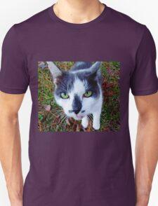 Green Eyed Pussy Cat T-Shirt