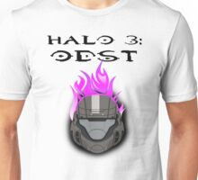 Halo 3: ODST Purple Flaming Helmet Unisex T-Shirt