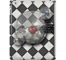 chequered reality iPad Case/Skin