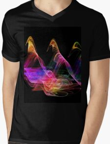 A Walk In The Night-Available As Art Prints-Mugs,Cases,Duvets,T Shirts,Stickers,etc Mens V-Neck T-Shirt