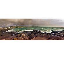 Kiama To Bombo beach...Best Viewed Larger. Photographic Print
