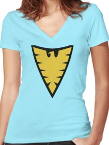 The Phoenix Women's Fitted V-Neck T-Shirt