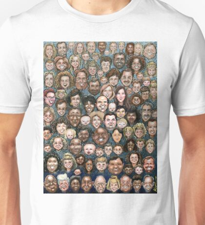 Faces of Humanity Unisex T-Shirt