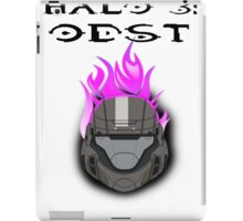 Halo 3: ODST Purple Flaming Helmet iPad Case/Skin