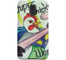 Super Chicken vs Worm Samsung Galaxy Case/Skin
