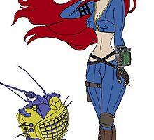 Fallout Ariel mashup by lissacorinne