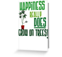 Weed Plant Funny  Greeting Card
