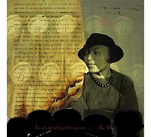 From The Fire: Zora Neale Hurston Photographic Print
