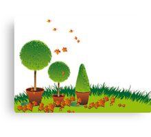 Garden Topiary Canvas Print