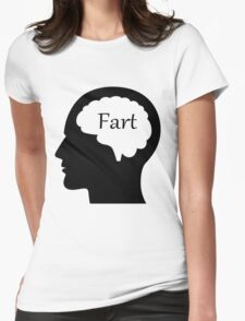 Brain fart Womens Fitted T-Shirt
